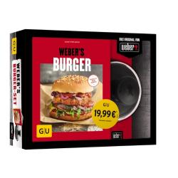 Weber® `s Burger Set mit Kochbuch