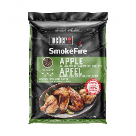 SmokeFire Holzpellet Apfelholz 9kg